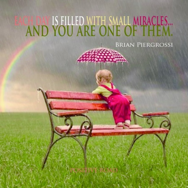 you are a small miracle