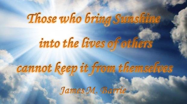 Sunshine quote for TBND