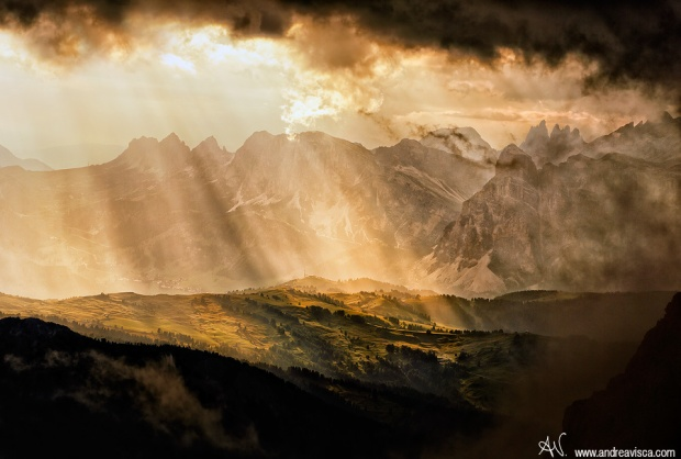 Light on the Mountain - Lagazuoi Refuge, Dolomites – Andrea Visca