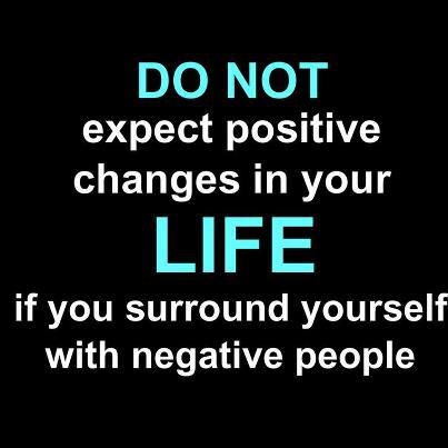 positive things negative people