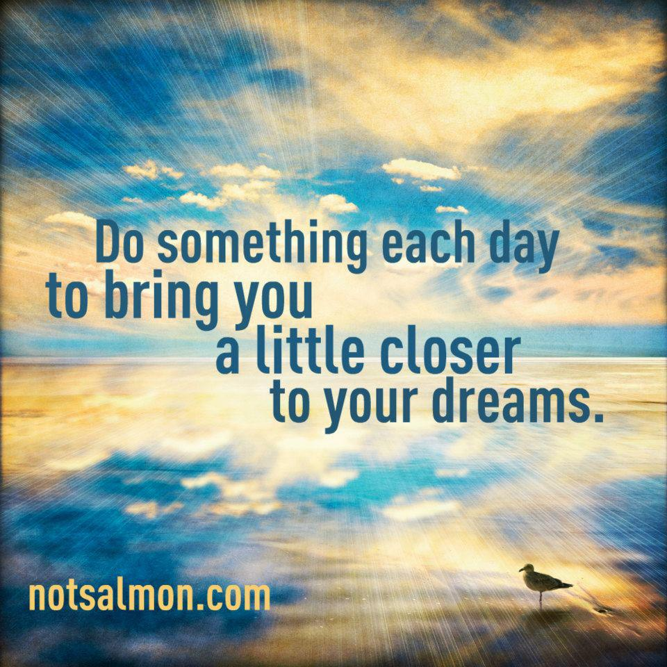 Friendship Quotes About Dreams : Positive thoughts on life attitudes only allowed