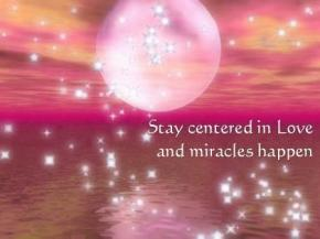 stay centered in love